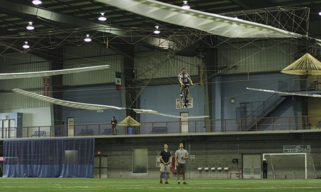 A Human-powered Helicopter Wins the $250,000 Sikorsky prize