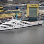 Azzam world's largest private yacht takes to the sea