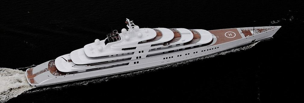 Azzam world s largest private yacht takes to the sea for Largest private boat
