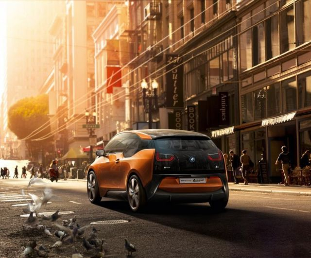 BMW i3 Electric Car arriving in the US 5