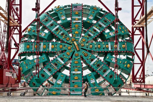 Bertha is Tunneling Seattle's Underground Freeway