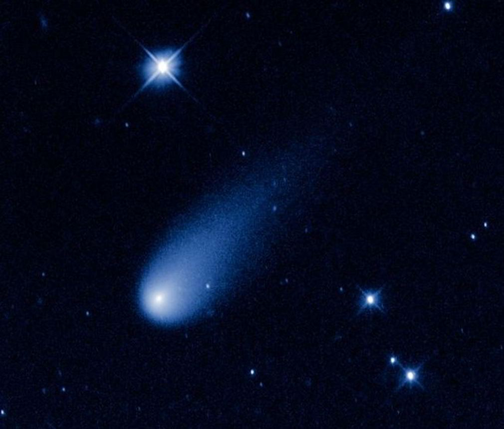 Comet ISON from Hubble Space Telescope