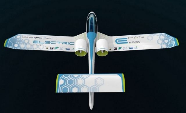 EADS E-Fan electric aircraft 1