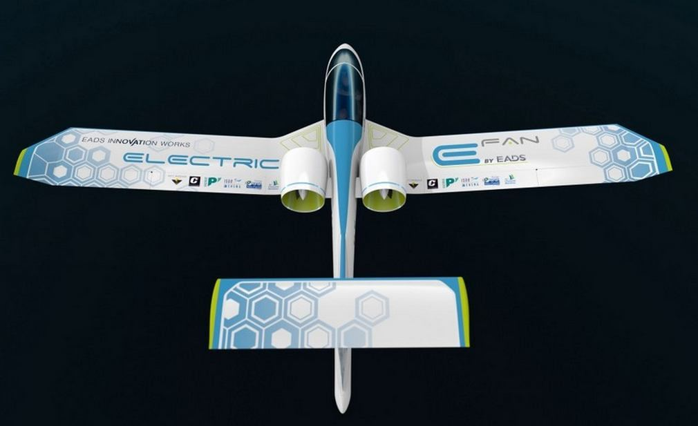 EADS E-Fan electric aircraft (4)
