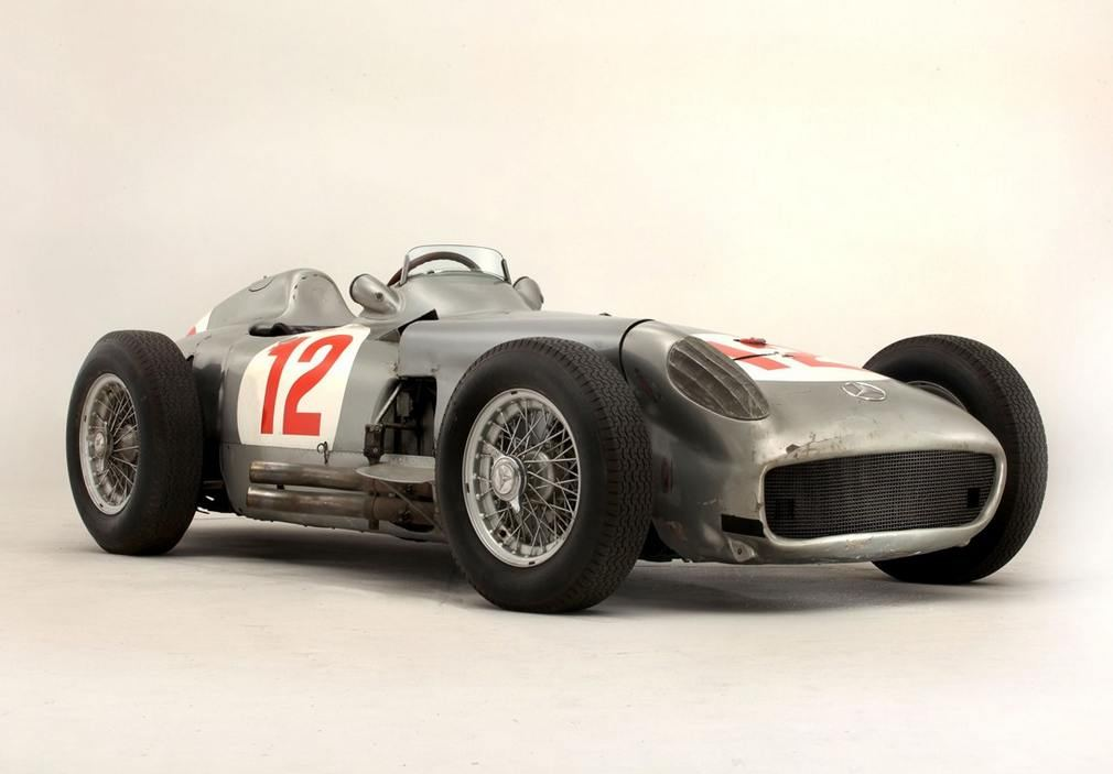 Fangio Mercedes F1 sells for record $29M at Goodwood auction 1