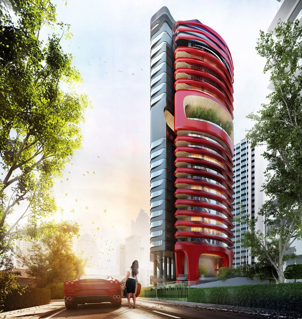 Ferra luxury residential condo by Pininfarina (12)