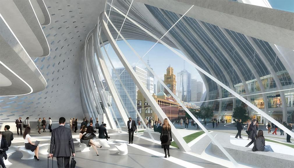 Flinders Street Station by Zaha Hadid Architects 2