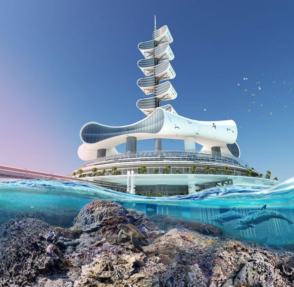 Futuristic Grand Cancun Eco Tourism Resort (13)