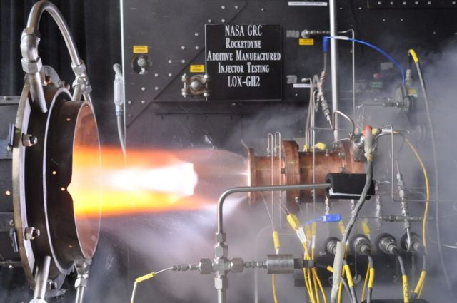 NASA First 3-D Printed Rocket Engine 1