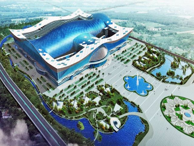 New Century Global Centre is world's biggest building (2)