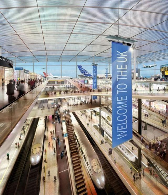 New London Thames Hub Airport by Foster - Partners (6)