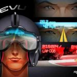 Reevu motorcycle Helmet with Head-up display