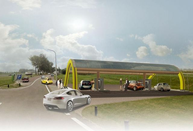 World's Largest Network of Fast-Charging Stations 1