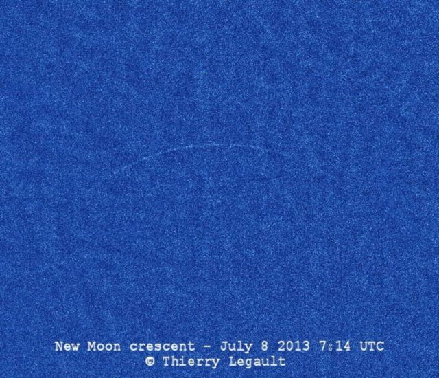 Youngest possible New Moon