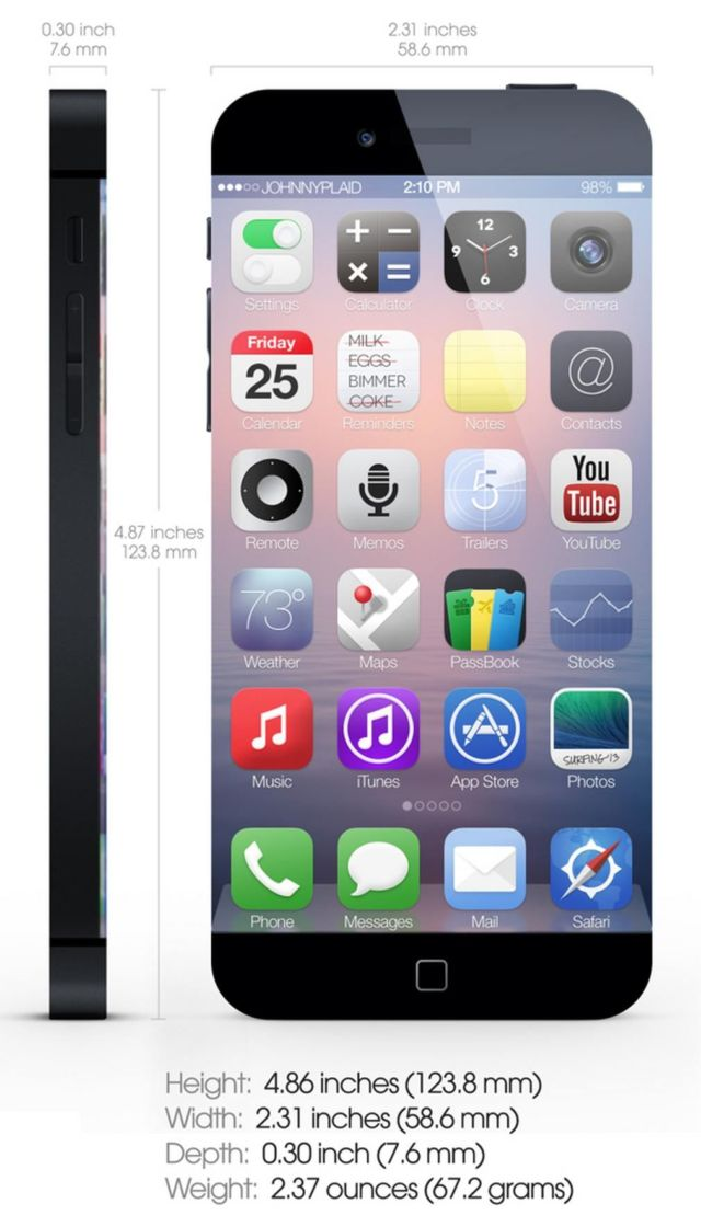 iPhone 6- an edgy concept (1)
