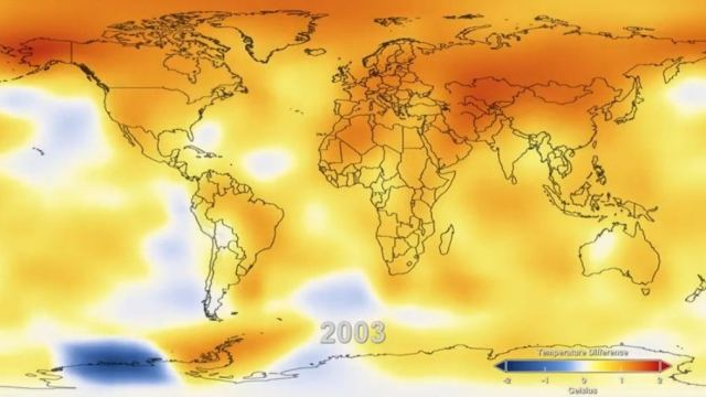 130 Years of Earth Surface Temperatures