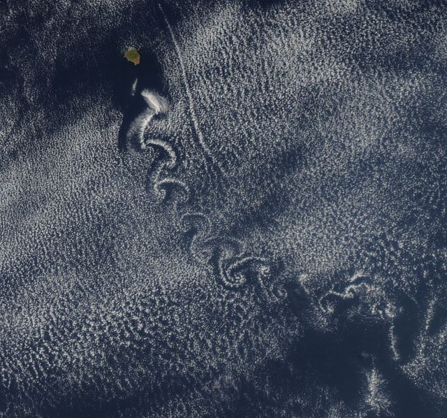 A Swirl of Clouds over the Pacific 2
