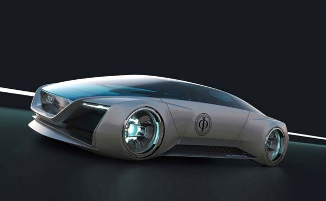 AUDI designs science fiction car 1