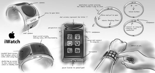 Apple's iWatch concept by James Ivaldi (2)
