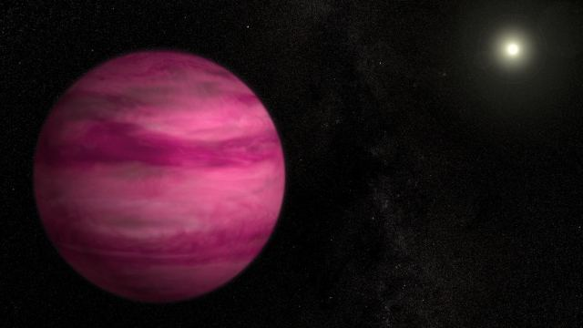 Astronomers discover a Pink exoplanet  2