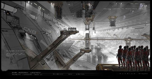 Elysium's Concept Artwork by George Hull