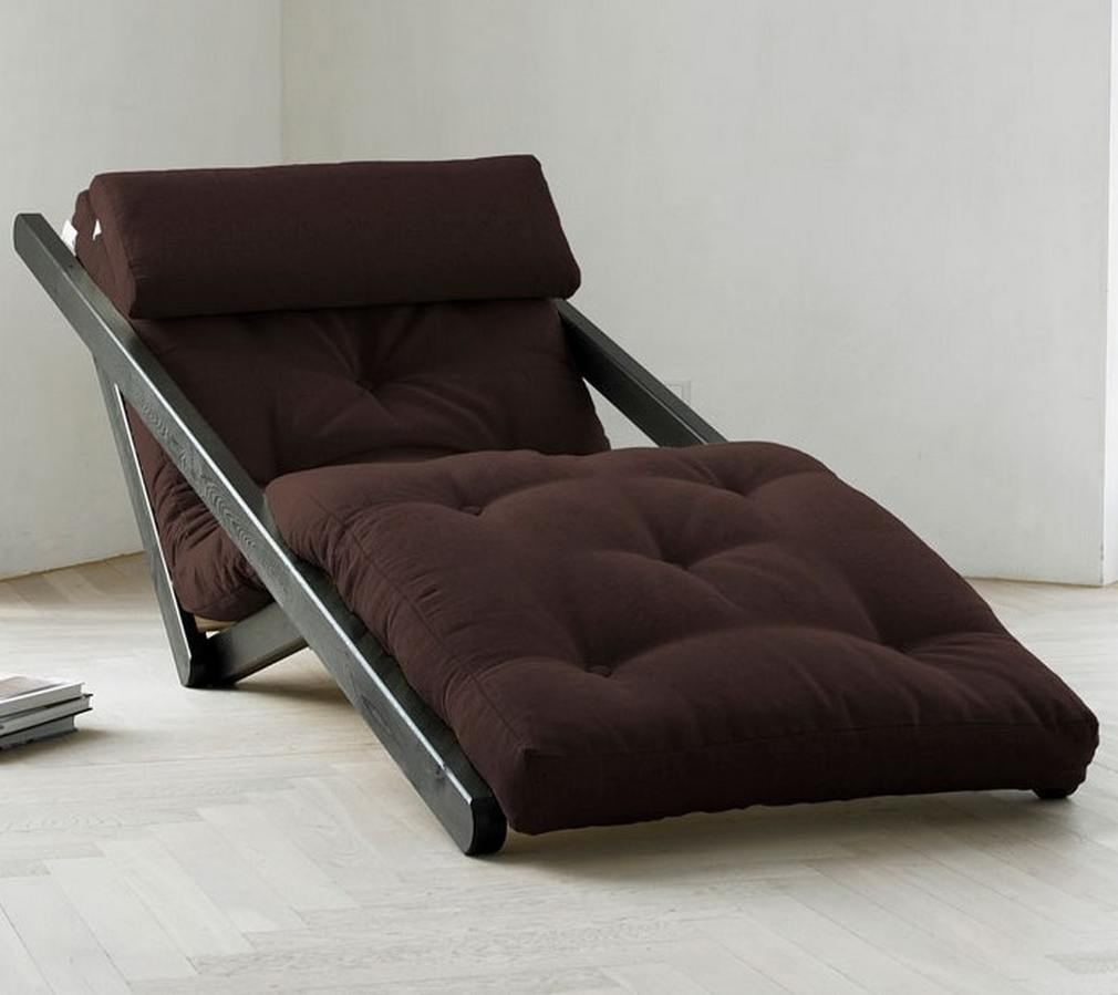 Figo futon chaise lounge wordlesstech for Chaise and lounge