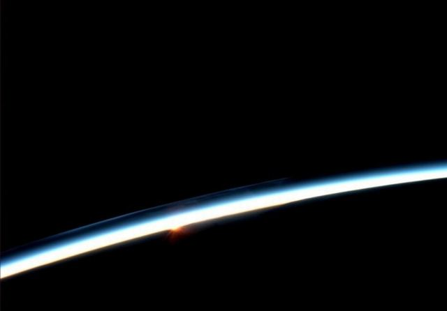 First hint of Sunrise from Space