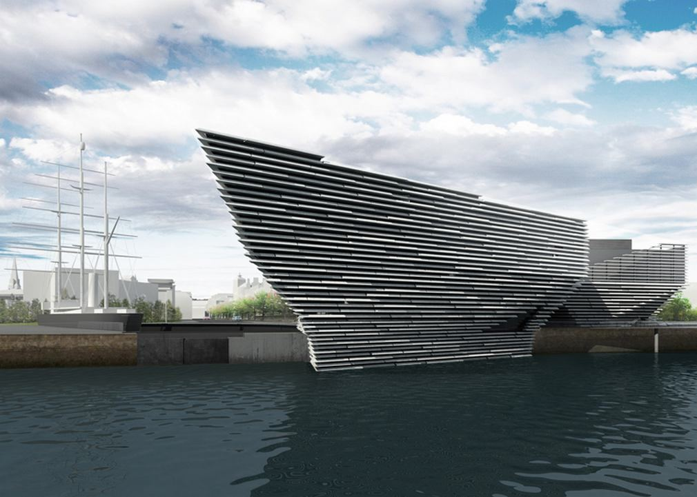 Green light for VandA at Dundee by Kengo Kuma (8)