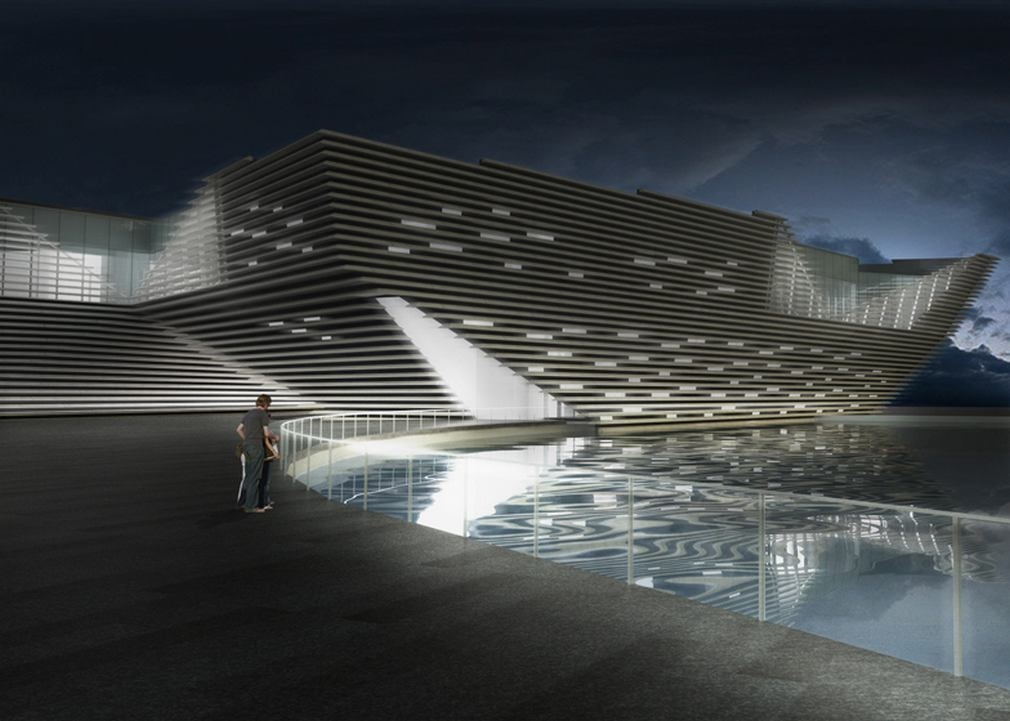 Green Light For V Amp A At Dundee By Kengo Kuma Wordlesstech
