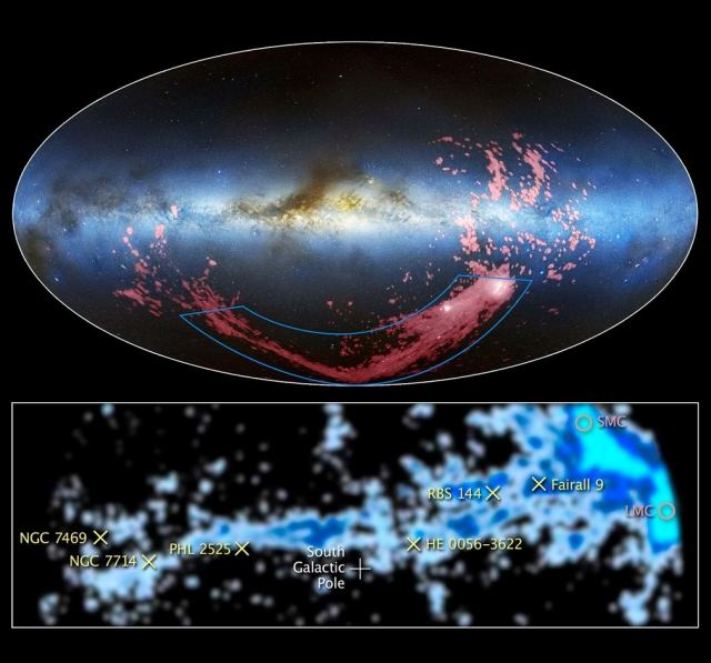 Hubble finds source of Magellanic Stream 1