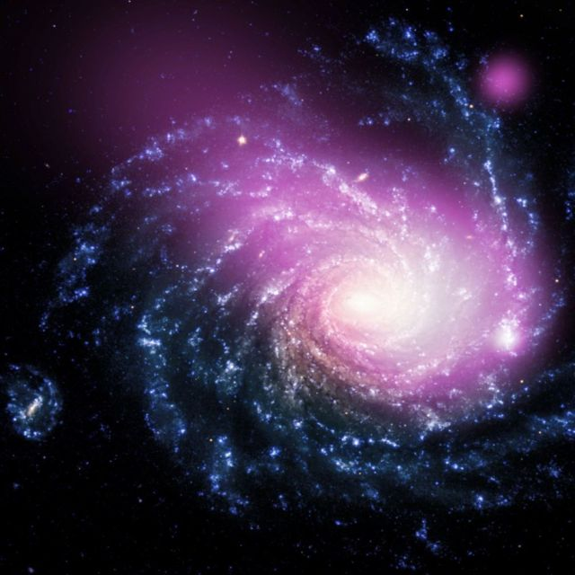 Impact of a Spiral and Dwarf galaxy