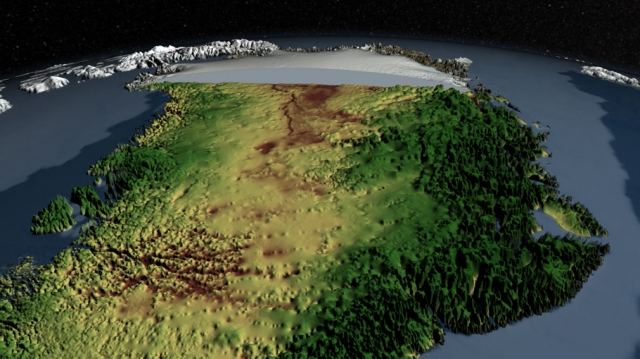 Mega-Canyon discovered below Greenland's ice sheet