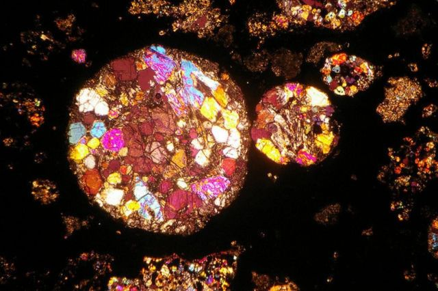 Meteorite thin sections 2