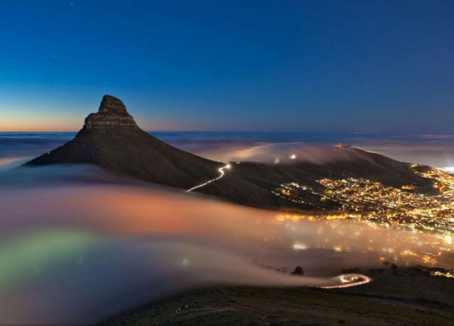 Cape town fog National Geographic / Eric Nathan