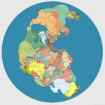 Pangaea in today's Political boundaries