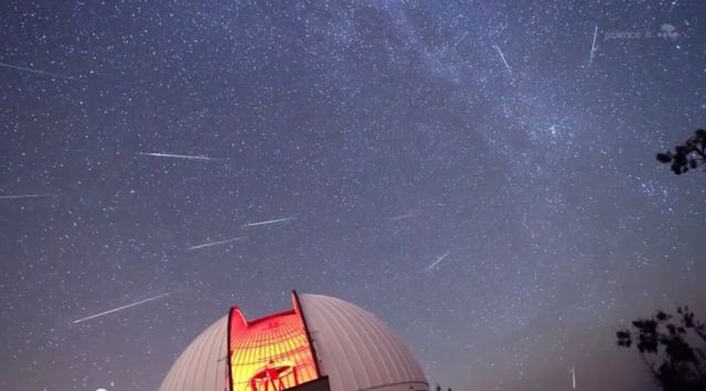 Perseids annual meteor shower