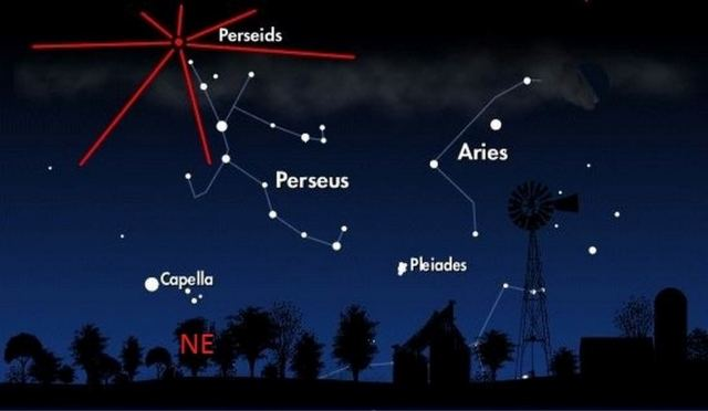Perseids annual meteor shower 4