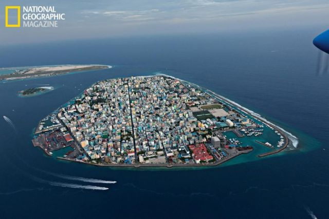 Rising Seas- Maale, capital of the Maldives