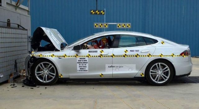 Tesla Model S is the safest car in the world 1