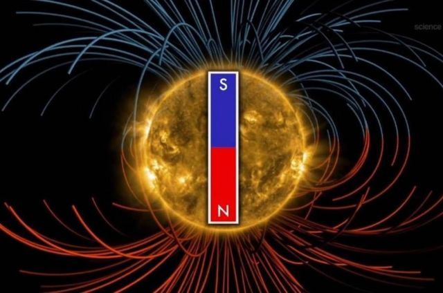 The Sun's Magnetic Field is about to Flip  1