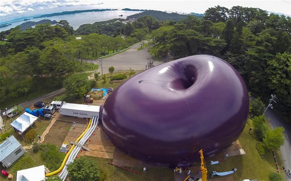 Ark Nova world's first inflatable Concert hal (8)