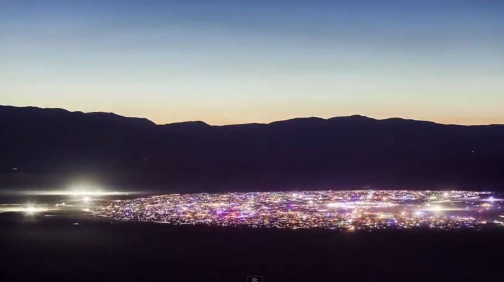Burning Man 2013 Time-Lapse
