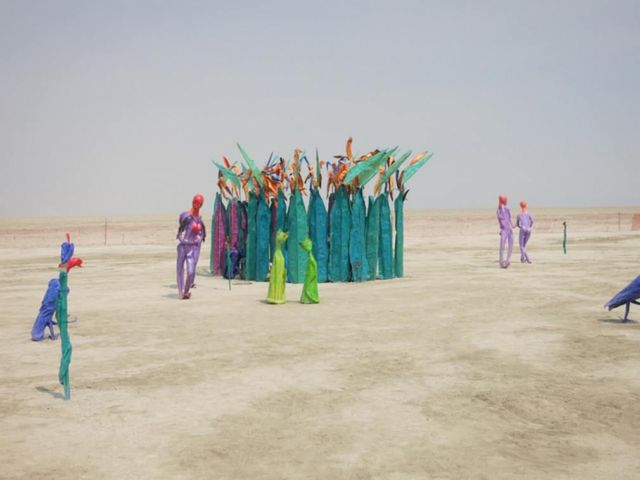 Drone's-Eye Tour of Burning Man (3)