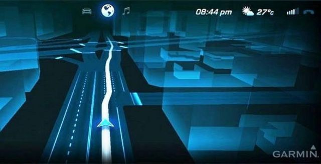 Garmin's futuristic 3D Sat-nav display (2)