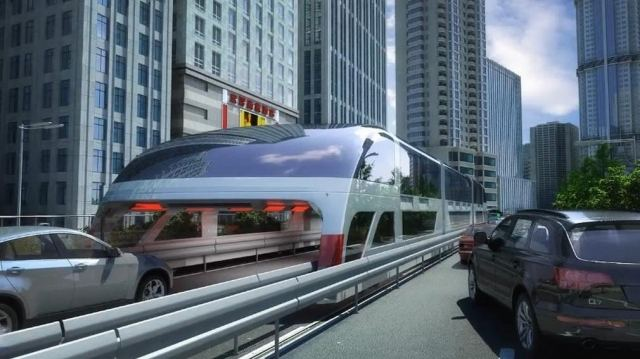 Giant Straddling Bus could be coming soon (7)