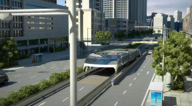 Giant Straddling Bus could be coming soon (5)