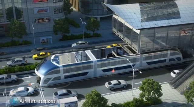 Giant Straddling Bus could be coming soon (4)
