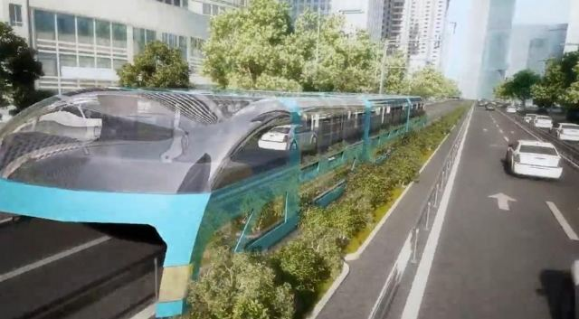 Giant Straddling Bus could be coming soon (1)