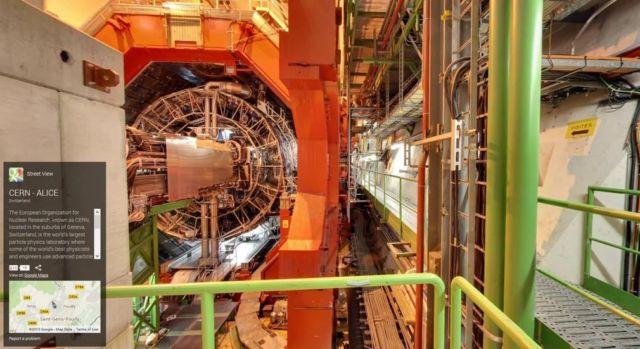 Google Street View takes you inside CERN (3)