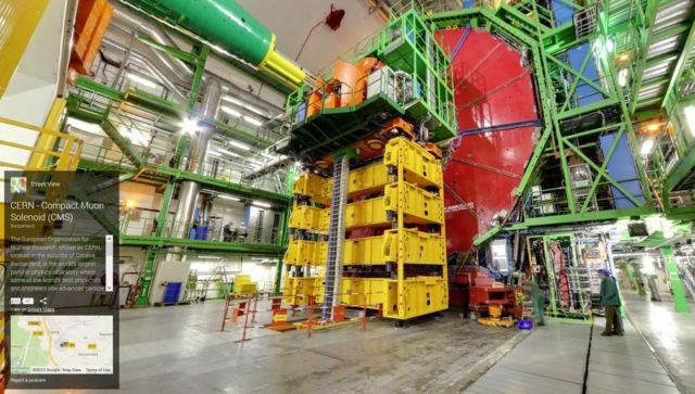 Google Street View takes you inside CERN (2)